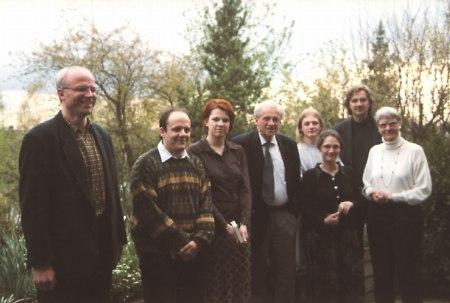 Zu Besuch bei Inge und Walter Jens im April 1999