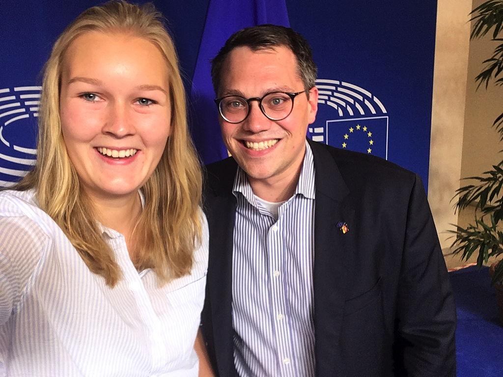 Selfie mit Tiemo Wölken