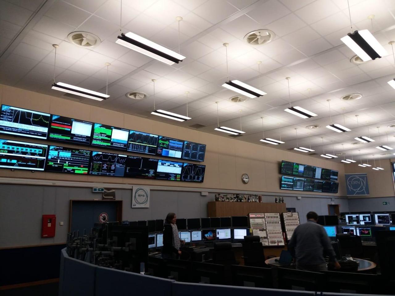 das CERN Control Center
