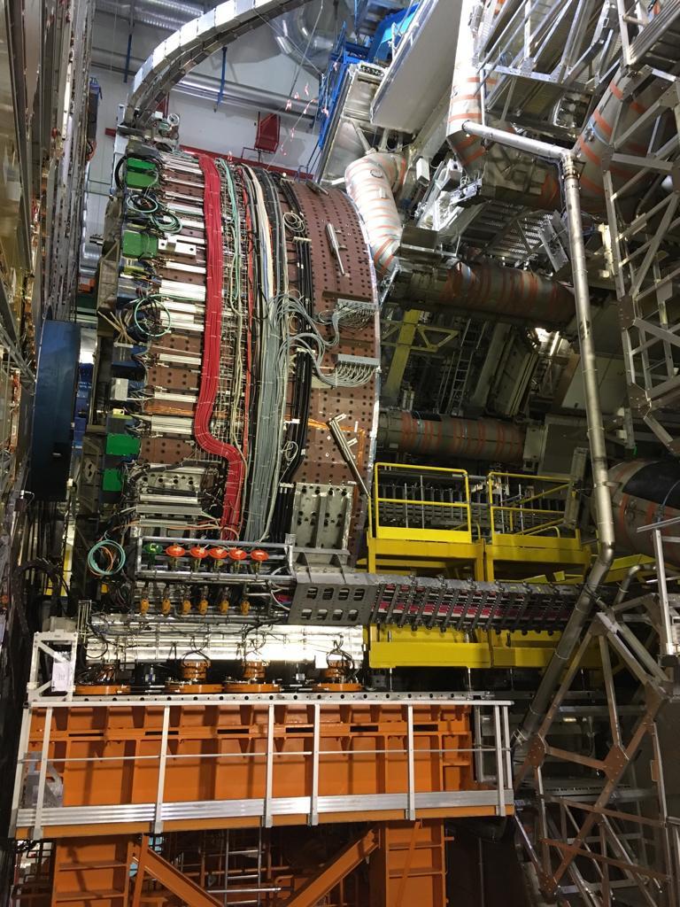 """Ein """"kleiner"""" Ausschnitt des ATLAS-Detektors"""