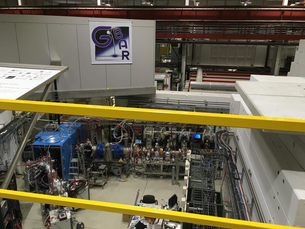 Experiment zur Untersuchung der Eigenschaften von Antimaterie hinsichtlich Gravitation