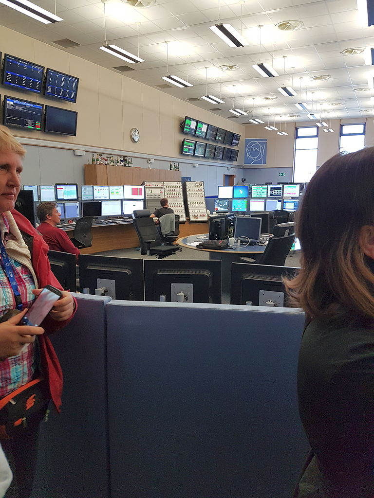 Das CERN-Control-Center, CCC