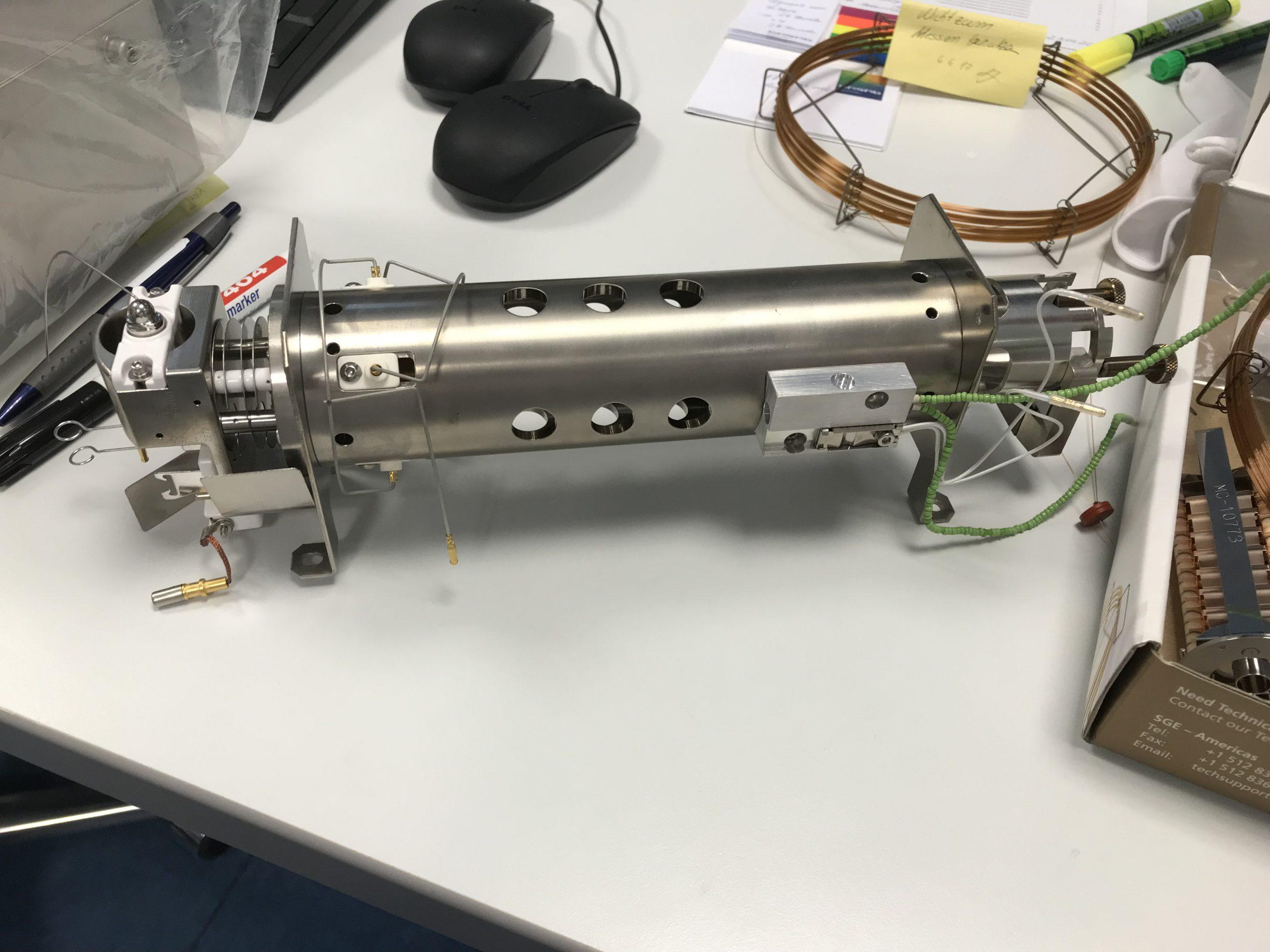 Ein Quadrupol aus einem Masenspektrometer
