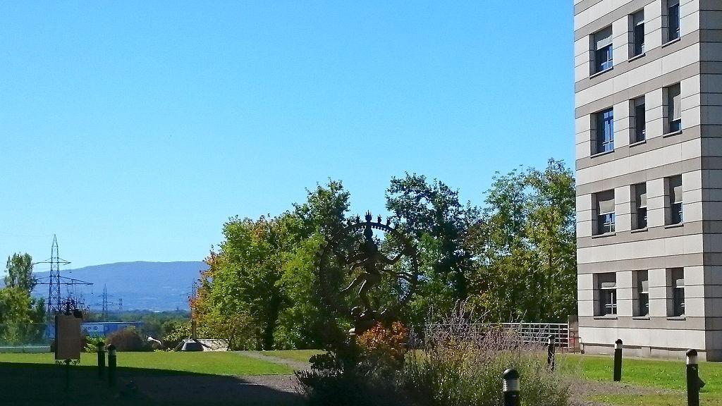 Eindrücke vom CERN-Gelände