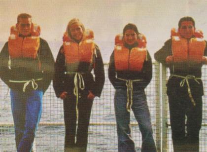 Mareike Aden, Fadi Ramadan, Markus Seemann und Katharina Voigt, 2002